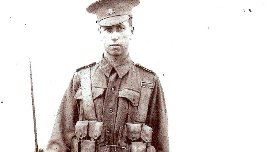 First World War Old Carolian Soldier