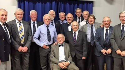 Class of 54, what a fine body of men!!
